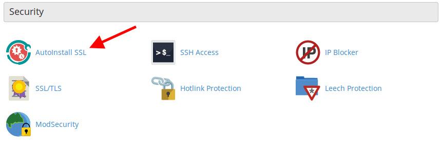 AutoInstall SSL cPanel